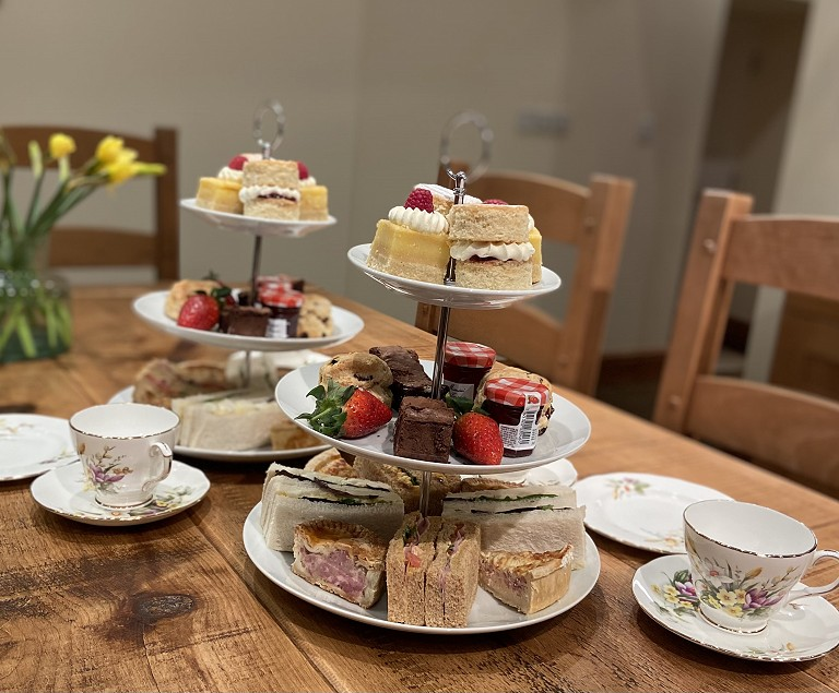 Afternoon Tea on your arrival or as a treat/picnic box